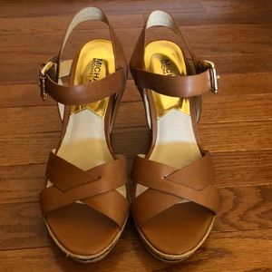 Brand New! Never Worn! Michael Kors wedges